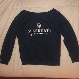 Maserati navy blue sweater